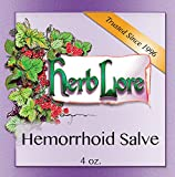 Herb Lore Hemorrhoid Ointment - 4 oz - Natural