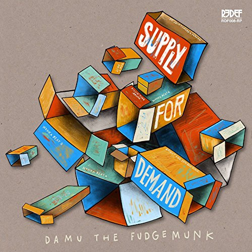 DAMU THE FUDGEMUNK - SUPPLY FOR DEMAND (BLK)