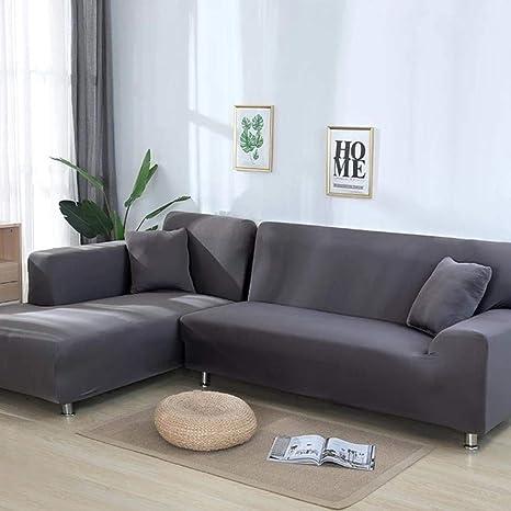 CCMOO 2 Piezas en Forma de sofá Sofá de Esquina Sofá de ...