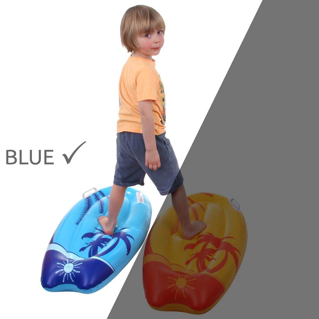 Jilong Kick-Board Blue Wave Wakeboard 95x45x15 cm Schwimmbrett Surfbrett Wellenreiter Luftmatratze
