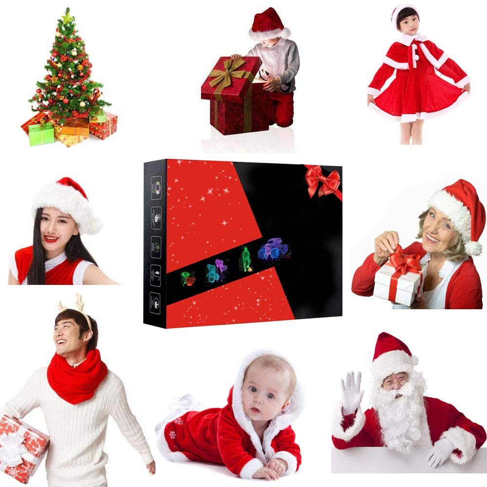 SZLTZK Christmas Gift Dual Color 3D LED Boy Slam Dunk Night Light 7 Color Touch Switch with Battery Compartment USB Cable Table Desk Baby Nursery Lamp Home Decor Birthday Present for Kids Boy Girl by SZLTZK (Image #3)