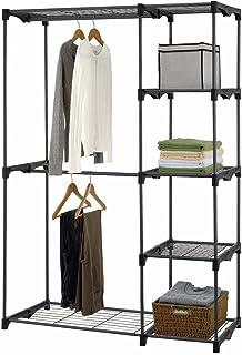 Superieur Iuhome Double Rod Freestanding Closet Organizer, Silver