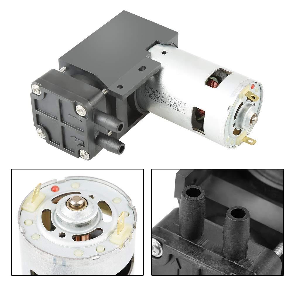 OKBY Vacuum Pump - 1pc DC12V 42W Mini Small Oilless Vacuum Pump -85KPa Flow 40L/min by OKBY (Image #4)