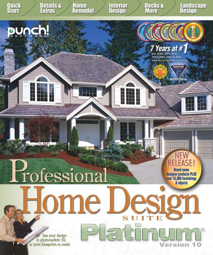 Attractive Punch! Professional Home Design Platinum V10