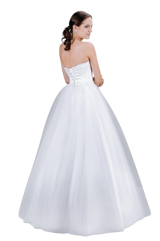 MGT-Shop - Vestido de novia - Bolero para novia blanco: Amazon.es: Ropa y accesorios