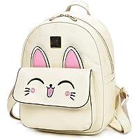 Redlicchi Girls Fashion Backpack Cute Mini kity Backpack Purse for Women