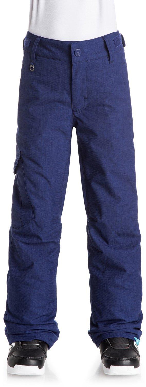 Roxy Big Girls' Tonic Snow Pant, Blue Print, 16/XXL
