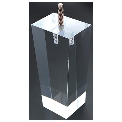 Sofa Legs Clear Furniture Feet Arcrylic 6 Inch Bench Legs Modern Cabinet  Cupboard Coffee Table Legs ...