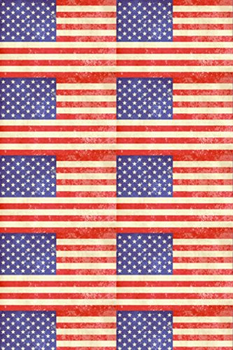 American Flag Vintage Heat Transfer Vinyl Sheet for Silhouette HTV for Clothing - Free Bonus Transfer Mask Included Premium Heat transfer Vinyl
