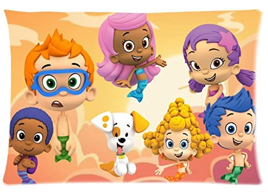 Amazon.com: Bubble Guppies Pillowcase 20x30 two sides Zippered ...