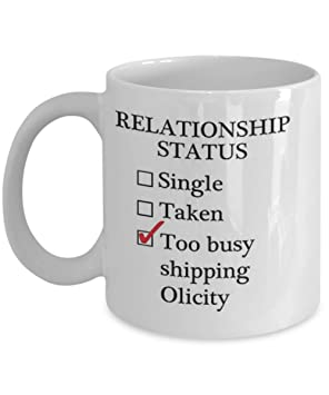 Relationship Status Too Busy Shipping Olicity Coffee Mug Tea