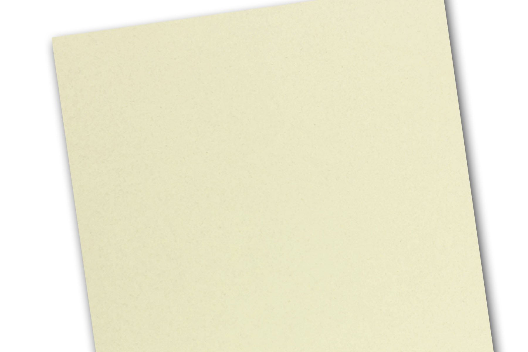 Royal Fibers 8.5'' x 5.5'' inch Half Letter 80# Cover Card Stock - 216 gsm 30% Recycled (250 Pack, Cream)