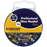Korbond 10 g Professional Glass Headed Pins