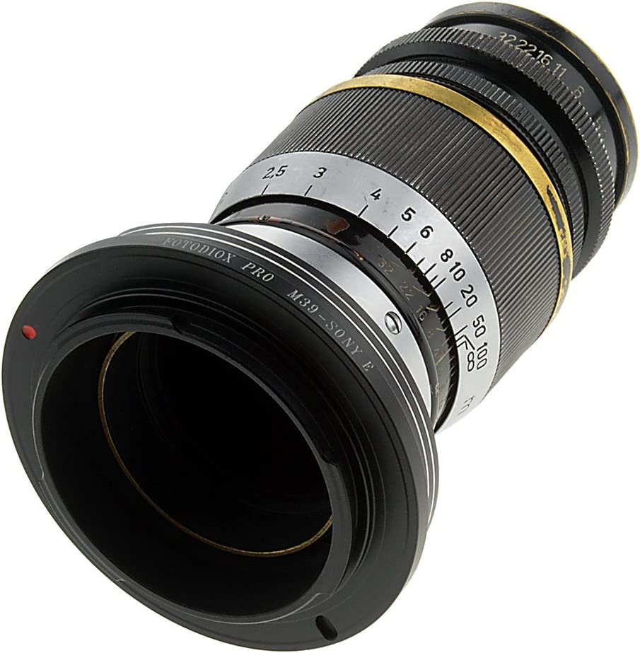 Fotodiox Pro Shift Lens Mount Adapter Compatible with Nikon F-Mount G-Type Lenses to Sony E-Mount Cameras
