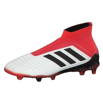 Predator 18+ FG, Chaussures de Football Homme, Noir (Cblack/Cblack/Reacor Cblack/Cblack/Reacor), 40 2/3 EUadidas