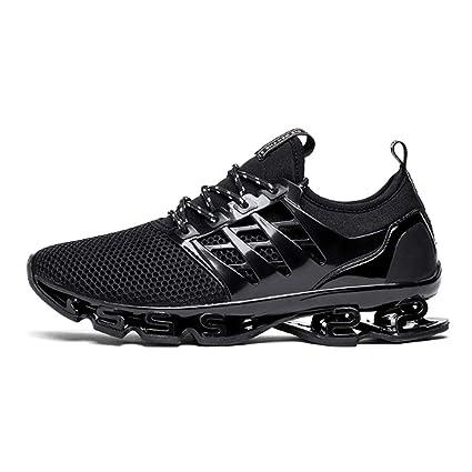 ASDFGH Zapatillas de Running para Hombre, Zapatillas de Deporte Transpirables y con absorción de Golpes