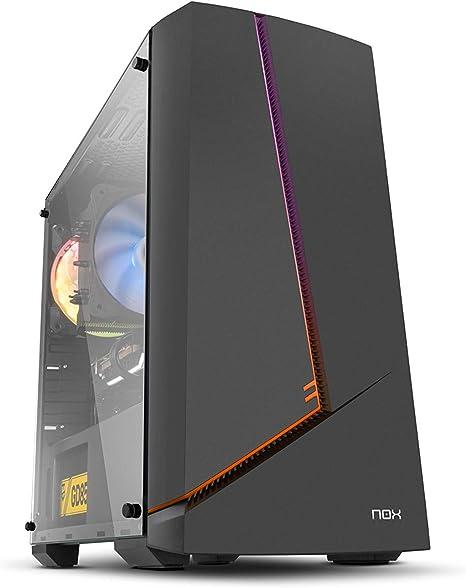 Nox Infinity Alpha - NXINFTYALPHA - Caja PC, Mini Torre, Rainbow ...