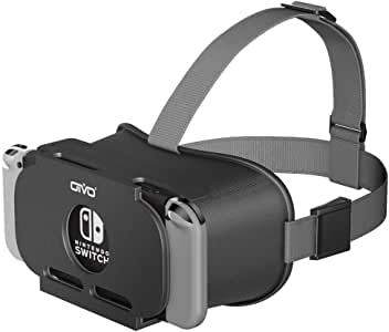 VR Labo for Nintendo Switch, OIVO 3D Labo Virtual Reality Glasses Headset for YouTube & Super Smash Bros. & Zelda & Super Mario Odyssey