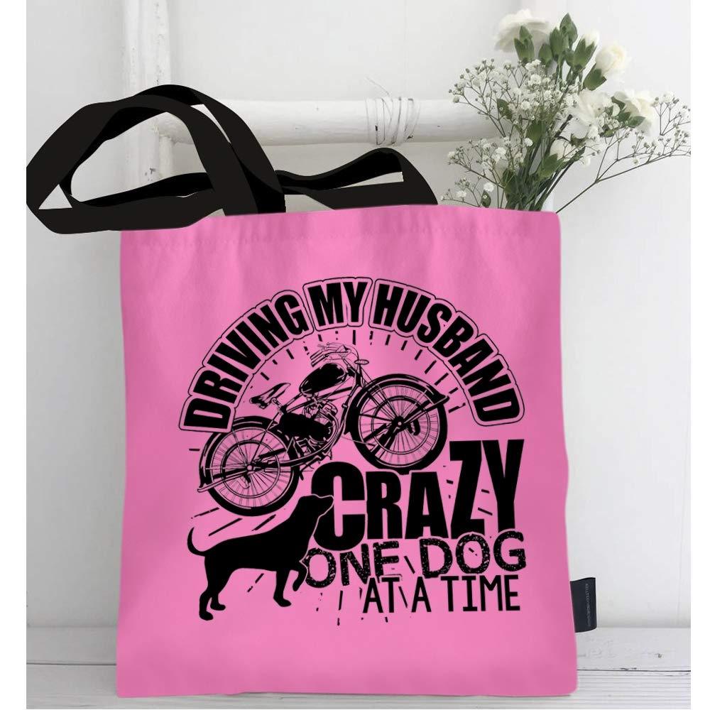 Amazon.com: Bolsa para la compra con diseño de mi marido ...