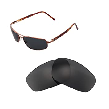 2227b33e08 Walleva Replacement Lenses For Maui Jim Kahuna Sunglasses - Multiple  Options available (Black - Polarized
