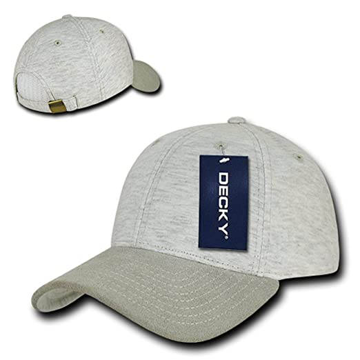 Amazon.com  Fashion Jersey Knit Mid Crown Structured Dad Hat ... 72d82b2fecc