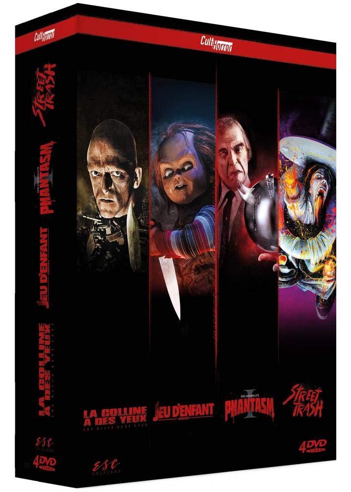 CultHorror : Phantasm + Chucky - Jeu denfant + Street Trash + La Colline a des yeux Italia DVD: Amazon.es: Don Coscarelli, Tom Holland (I), James M. Muro, Wes Craven: Cine y