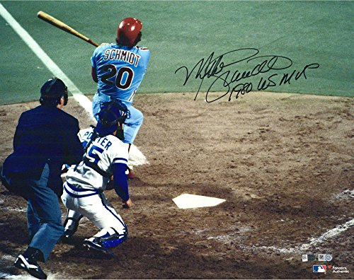 1980 World Series Mvp (Mike Schmidt Philadelphia Phillies Autographed 16