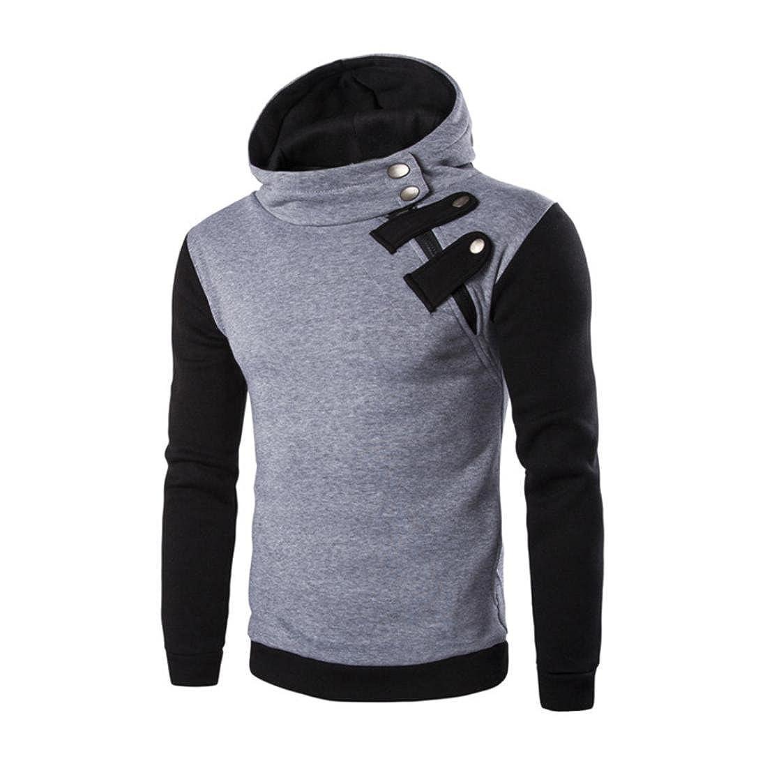 ♚Btruely Herren Sudadera con Capucha y Cremallera Camiseta Hombre Otoño Moda Blusa de Manga Larga Chaqueta de Abrigo: Amazon.es: Ropa y accesorios