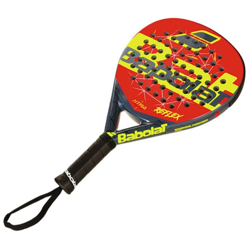 Babolat Raqueta de padel Reflex Rojo Gris - Padel Tenis: Amazon.es ...