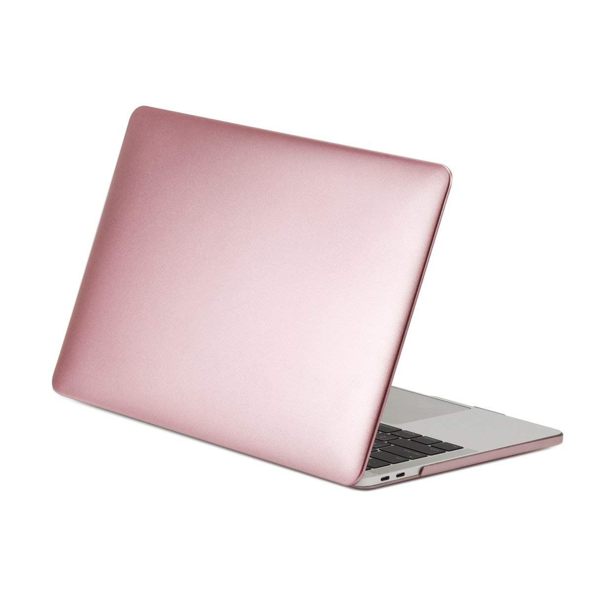 TOP CASE - 4 in 1 Matte Hard Case, Keyboard Cover, Sleeve, Screen Protector Compatible with MacBook Pro 13'' with/Without Touch Bar Model: A1989 / A1706 / A1708 (Release 2016-2019) - Rose Gold by TOP CASE (Image #3)