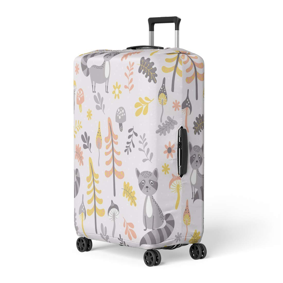 Semtomn Luggage Cover Bathing of Women Classic Swimsuit Vintage Bikini Collection Girl Travel Suitcase Cover Protector Baggage Case Fits 18-22 Inch