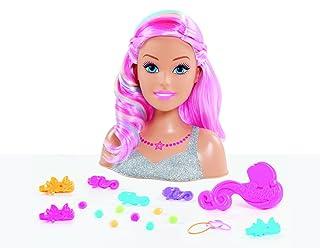 Barbie dreamtopia Testa a acconciare, bar18 GIOCHI PREZIOSI