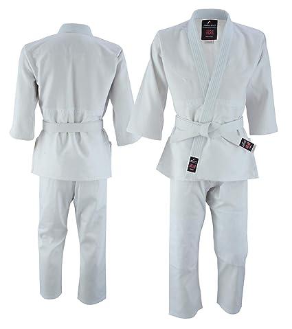 Malino Traje de Judo Gi para niños Uniforme de Poli-algodón ...