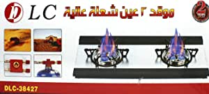 Portable Camping Double Burner Gas Stove DLC-38427