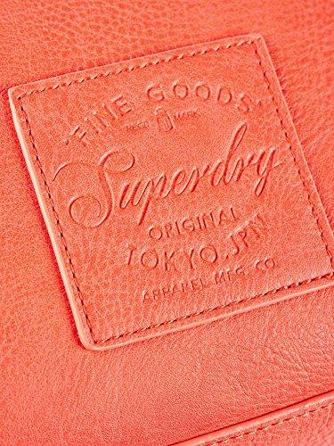 Superdry G91002YQ Shopper Accessori Arancio S