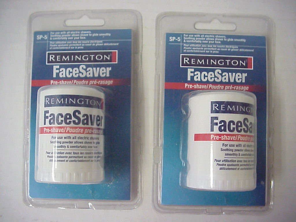 Amazon Com Remington Sp 5 Pre Shave Talc Stick Face Saver For All
