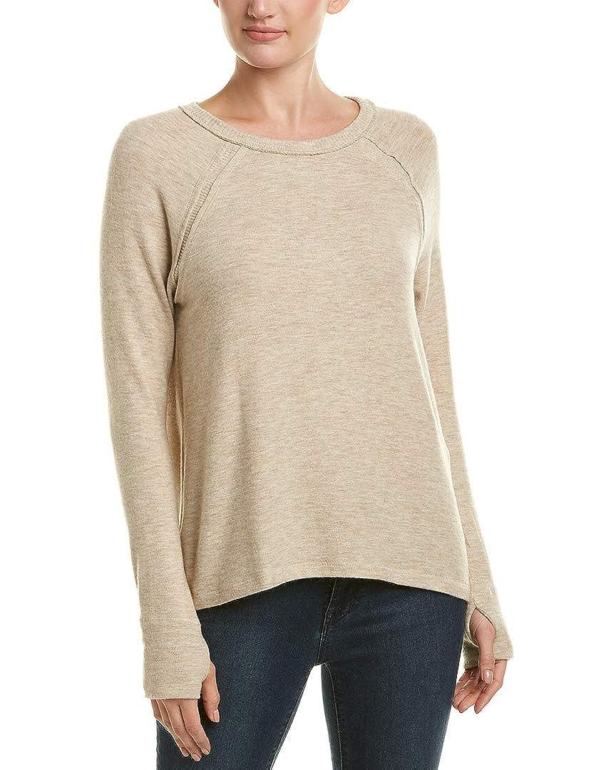 1aca7dcdee38 Amazon.com: Michael Stars Womens Rib-Trim Sweater, L, Beige: Clothing