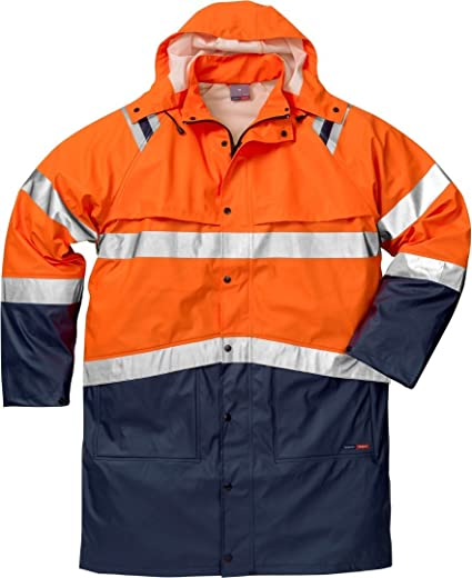 Fristads navy small rain jacket