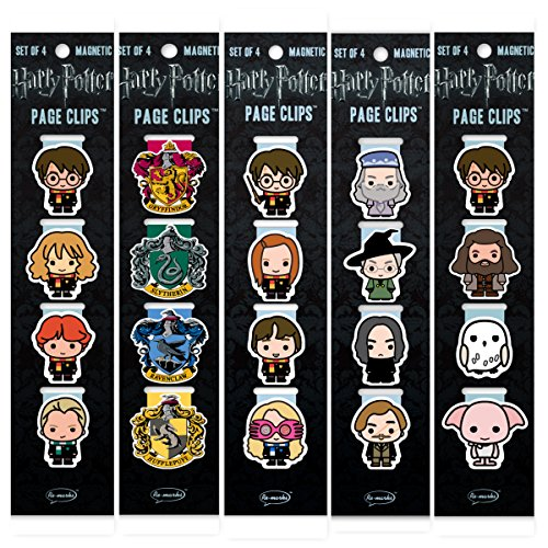 - Re-marks Harry Potter Students, Professors, Wizards, Hogwarts, and Crests Page Clip 5 Pack