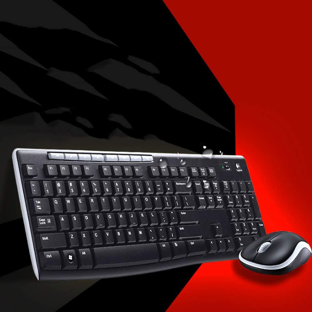 ZFLIN Wired Home Office Mouse Keyboard-Black