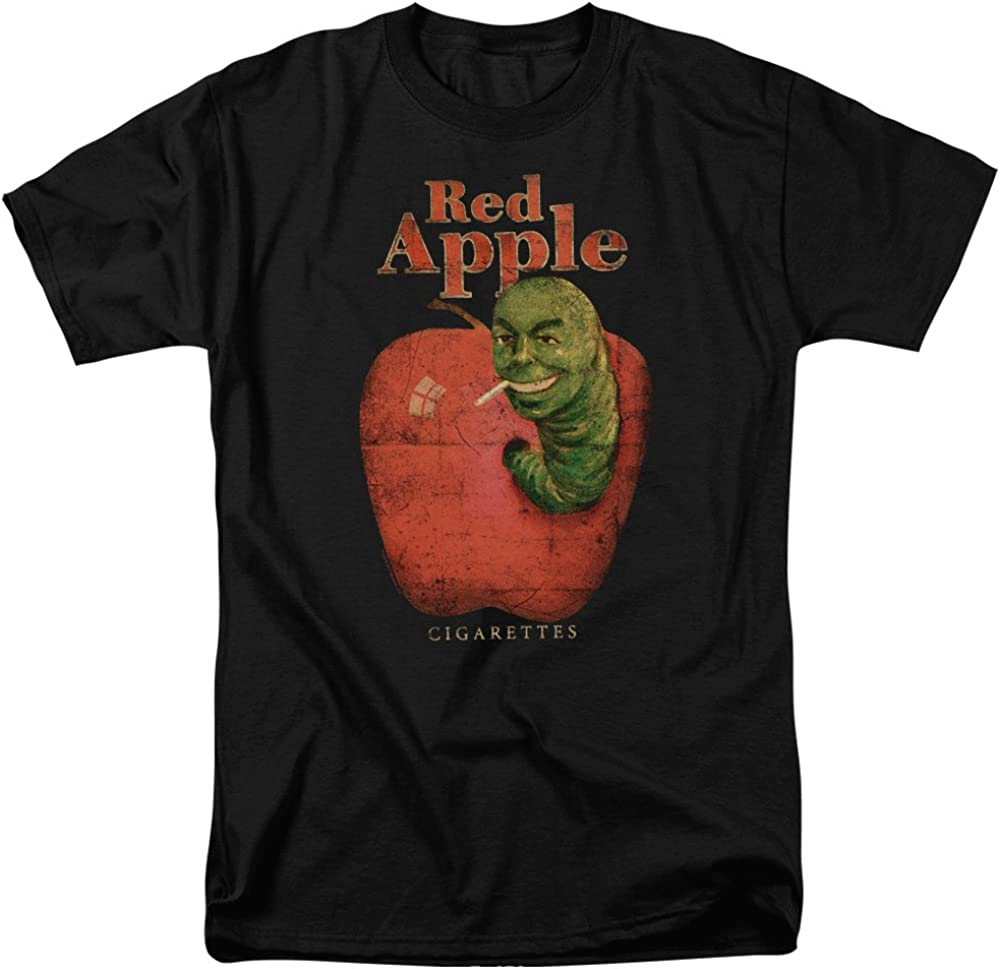 A&E Designs Pulp Fiction Shirt Red Apple Cigarettes T-Shirt
