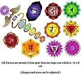Chakra Peace Collection (Chakra Yoga Temporary Tattoos)