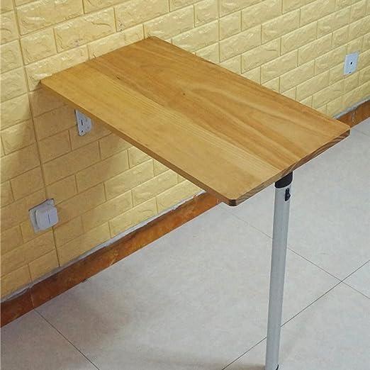 Folding desk Mesa de Escritorio para Ordenador, Madera Maciza ...