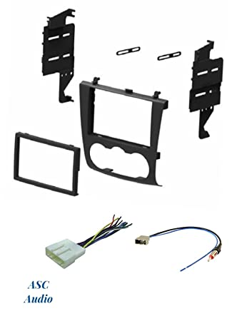 61SShf0njxL._SY450_ amazon com asc audio car stereo install dash kit, wire harness  at eliteediting.co