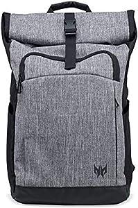 "Acer Predator Rolltop Jr. Backpack - For All 15.6"" Gaming Laptops, Travel backpack, Organized Pockets for All Gear"