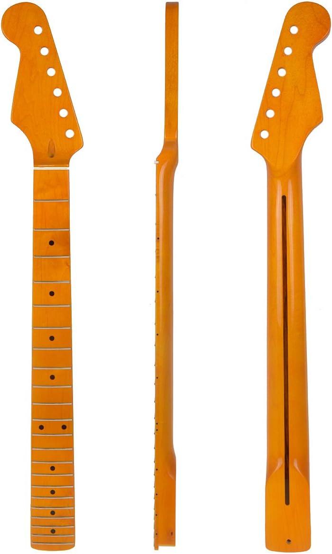 Mano izquierda guitarra eléctrica Cuello de repuesto amarillo ...