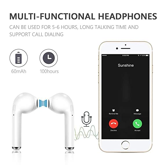 Auriculares Bluetooth Lifeprove, Auriculares estéreo Bluetooth V4.2, Anti-Sweat Sport, para iPhone X, 8, 8, 7, 7, 6s, Samsung Galaxy, iOS, ...