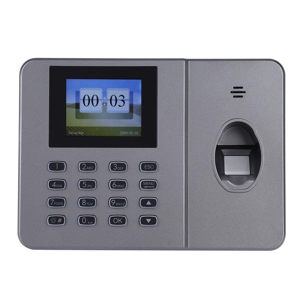 Yosoo- Office Fingerprint Attendance Machine, 1.8-inch TFT Screen Biometric Fingerprint Time Attendance Clock Employee Checking-in Payroll Recorder(US)