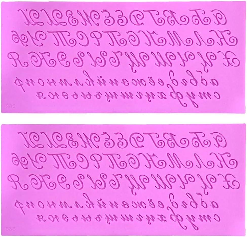 fondente caramelle con lettere dellalfabeto cioccolato Stampi per cioccolatini 3D artistici con lettere russe in silicone per torte fai da te budini stampo da cucina Museourstyty