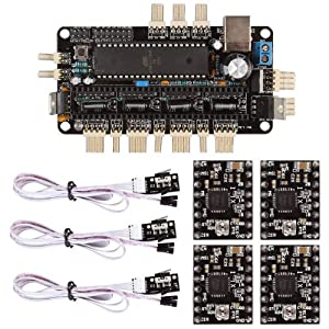 SainSmart Sanguinololu RepRap + A4988 + Mechanical Endstop Kit for RepRap 3D Printer Arduino Mega2560 UNO R3